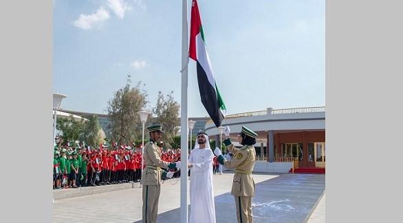 محمد بن راشد في يوم العلم: بالدًّما له نفتدي ونذود عنه